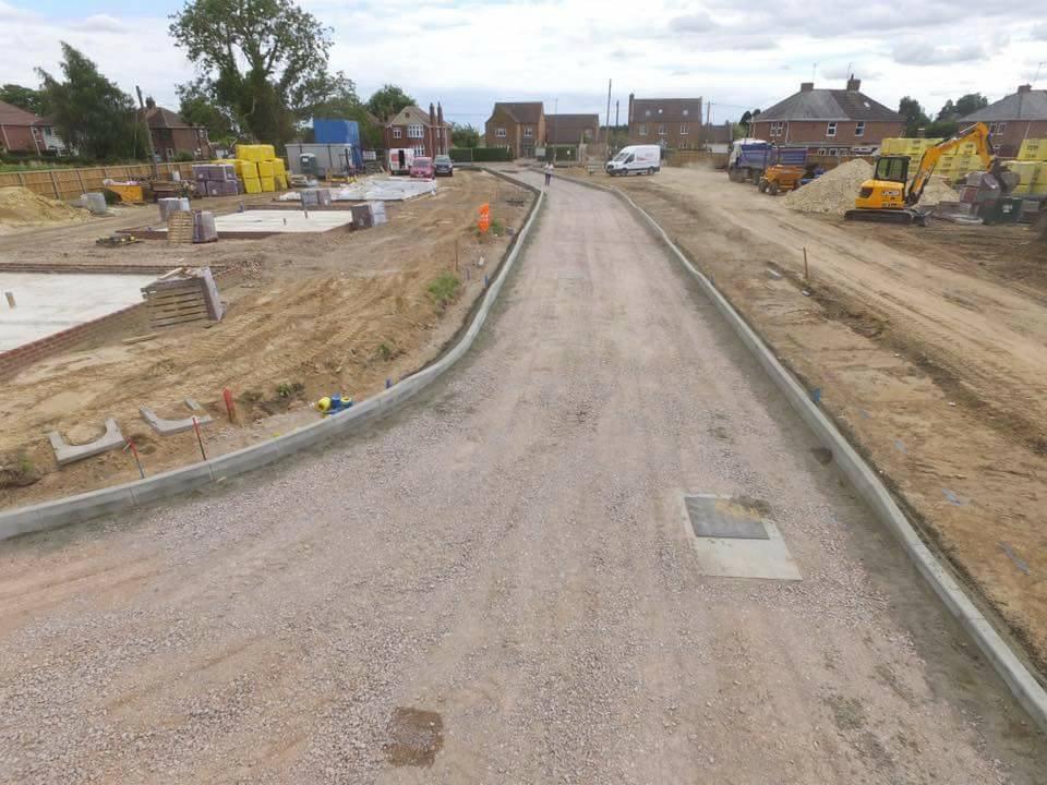 Northants Concrete Kerbing Kerbs Kettering Wellingborough Milton Keynes Corby Bedford