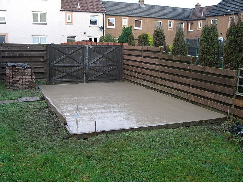 Northants Concrete Garage Shed Base Foundation Kettering Wellingborough Milton Keynes Corby Bedford